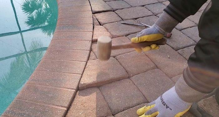 mallet block paving