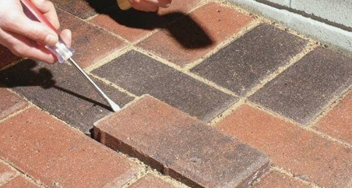 moving out a brick
