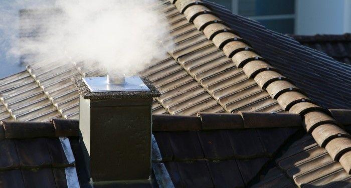 working chimney
