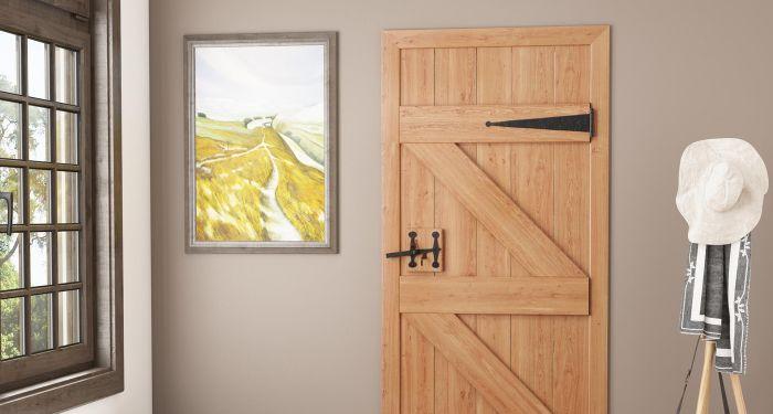 example of ledged door