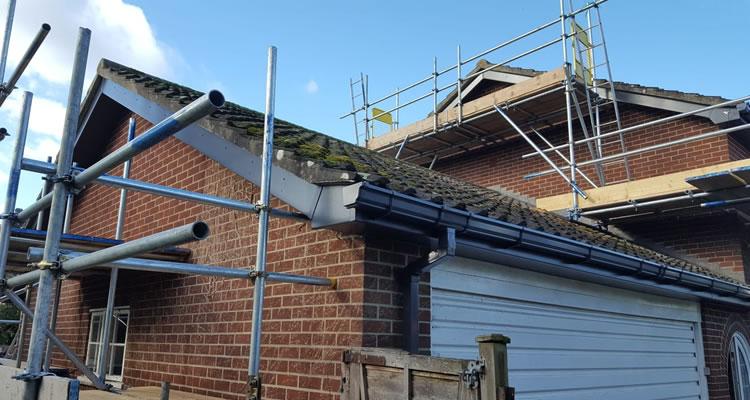 house roofline